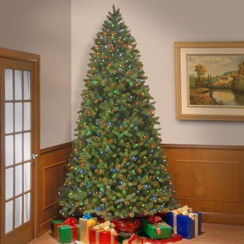 305 m 10 ft pre lit artificial christmas tree bayberry spruce hinged