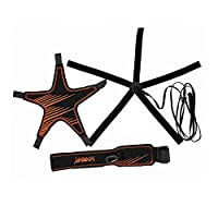 FLYsport Volleyball Training Equipment Aid- Arm Swings Volleyball Warm Up Tool- Great Trainer for Solo Practice of Serving Tosses and Passing Technique by FLY