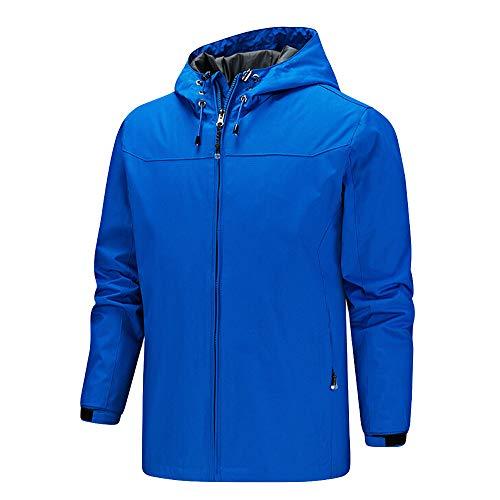 (Men Raincoat Anorak Mountaineering Jacket Waterproof Jacket Windbreaker Outdoor Outerwear Sportswear Coat)