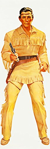 Xxl Poster Prints The Lone Rangers - Tonto Wheaties Posters (General Mills, 1957 20x60