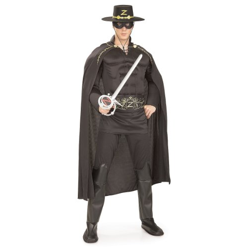 (Deluxe Muscle Chest Zorro Adult Costume - Standard)
