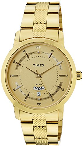 Timex-Classics-Analog-Beige-Dial-Mens-Watch-G909