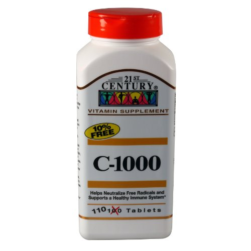 21st Century 1000 Tablets Count product image