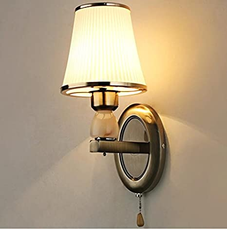 Avanthika E27 Wall Sconces Mounted Wall Bedroom Stair Wall Lights Rustic  Iron Living Room Lamp Bedroom