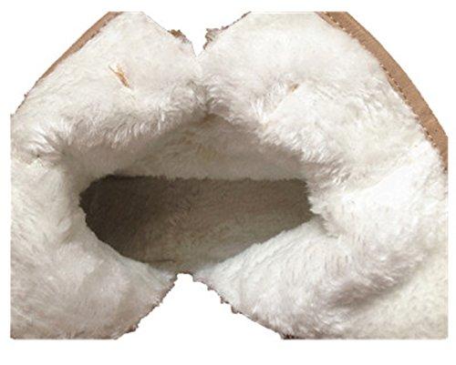 bottine femme clouté fourrée chaussure cloutés clou botte clouté cloutée TAUPE SM175