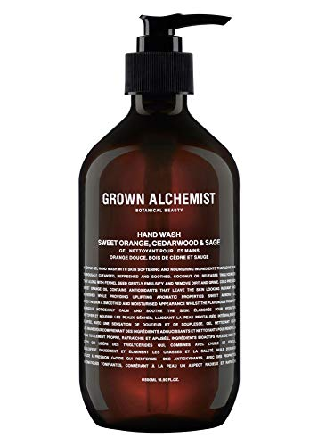 Grown Alchemist Hand Wash - Sweet Orange, Cedarwood & Sage (500ml / 16.9oz)