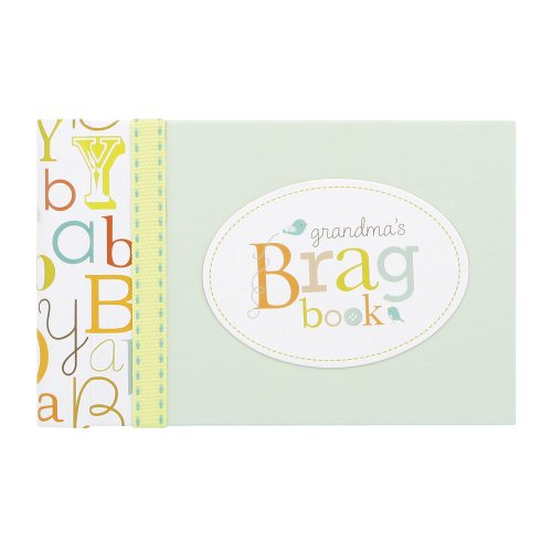 C.R. Gibson Grandma's Brag Book, 10 Sheets/20 Pages, Measures 4.5