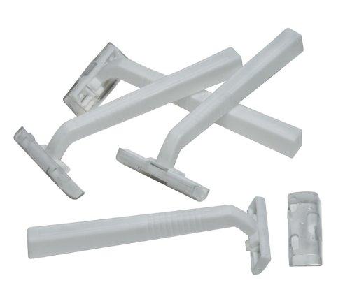 Disposable Razors - Twin Blade Razor 500 pcs sku# 358842MA