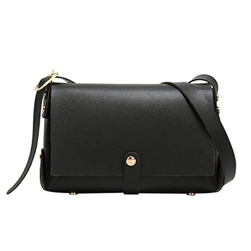 (Crossbody Bags for Women,iOPQO Chain Bag Candy Messenger Bag Rivet Square Bag)
