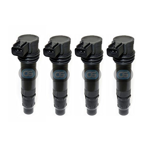 4-PACK Ignition Coil for Kawasaki Ninja ZX-6R ZX6R 636 ZX-6RR ZX6RR (2003-2008) Warranty by CoilSpec