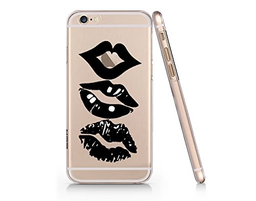 Sexy Lips Slim Iphone 6 6S Case, Clear Iphone 6 6S Hard Cover Case For Apple Iphone 6 /6S -Emerishop (VAE128.6sl)