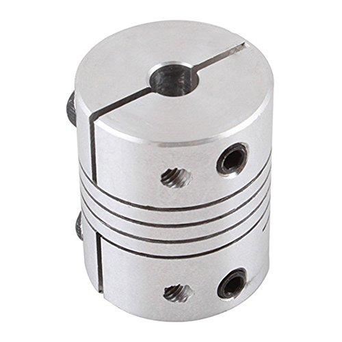 Shaft coupler d25 l30 flexible coupling stepper motor for Stepper motor shaft coupling coupler