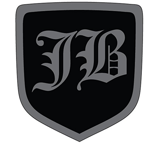 2007 Dodge Charger Steering Wheel Emblem JB Old English Black