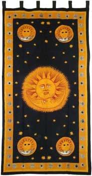 RBI Fortune Telling Toys Altar Cloth Sun God Curtain 44'' x 88'' by RBI