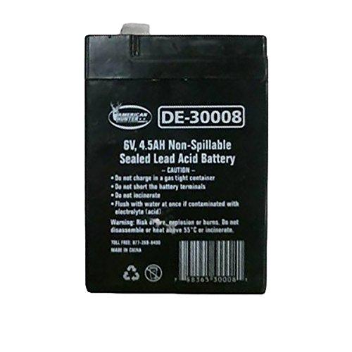 AMERICAN HUNTER Decoy Mojo 6 Volt 4.5 AMP Rechargeable Battery (Black)