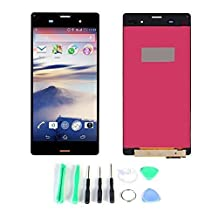 Generic LCD Display Touch Digitizer Screen Replacement Part for Sony Xperia Z3 D6603 D6616 L55T Black