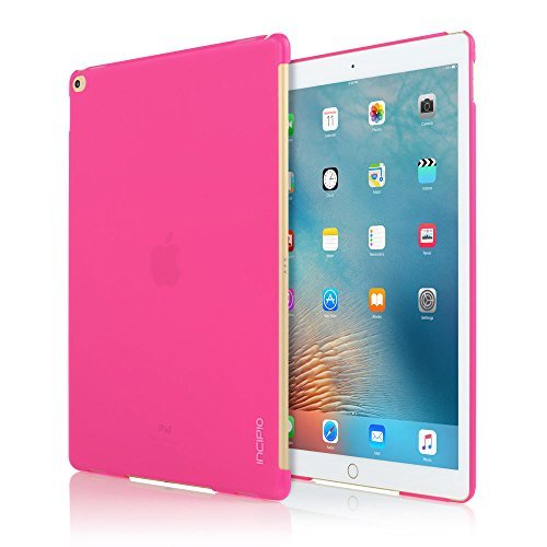 iPad Pro Case,Incipio [Feather] iPad Pro Ultra-Thin Slim Fit Snap-On Cover (Keyboard Sold Seperately) - Pink