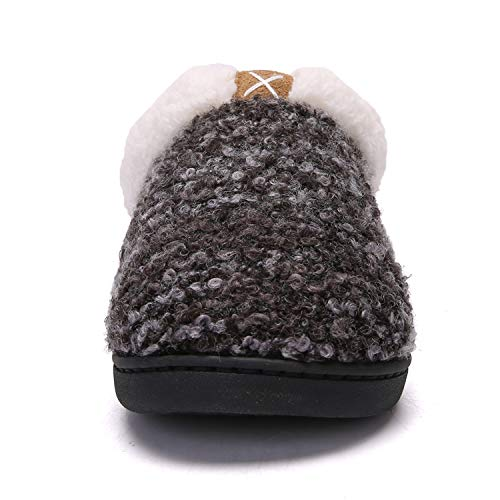 Pictures of Women's Comfort Memory Foam Slippers Plush 6
