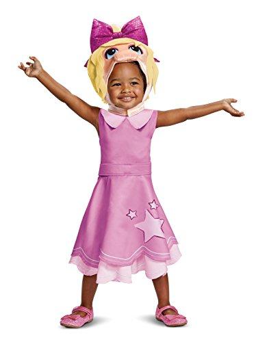 Disney Miss Piggy Muppet Babies Toddler Girls' Costume
