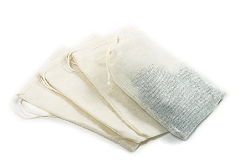 Norpro 5517 Cotton Brew Bags, 4 Pieces ()