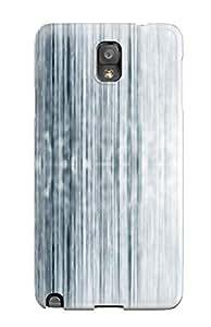 For Galaxy Note 3 Fashion Design Strip C Blue White Lines Case-HDQFlJo16686NihCn