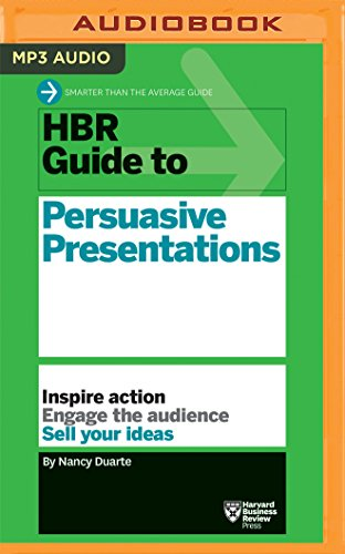 HBR Guide to Persuasive Presentations (HBR Guide Series) by Audible Studios on Brilliance Audio