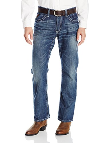 Flame Resistant M4 Low Rise Boot Cut Jean, Glacier, 40x36