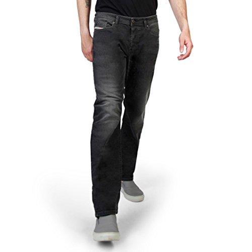 (Diesel Men Black Jeans)
