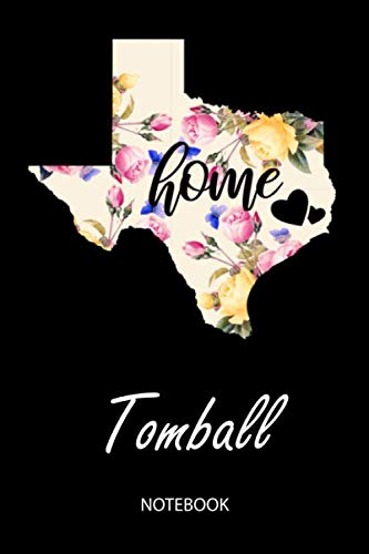 Home - Tomball - Notebook: Blank Personalized Customized City Name Texas Home Notebook Journal Dotted for Women & Girls. TX Texas Souvenir, ... / Birthday & Christmas Gift for Women. -