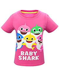 Thombase Kids Boys Girls Baby Shark Doo Doo Family Matching Funny T Shirts