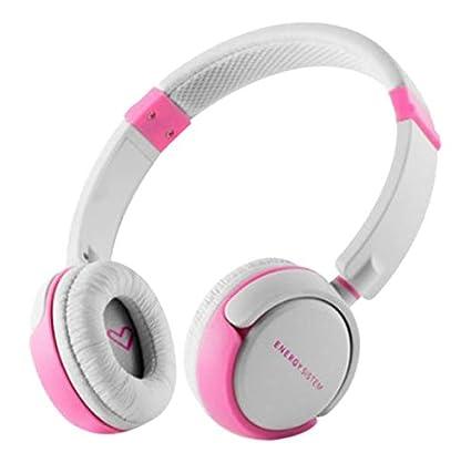 Amazon.com: Headphones Energy DJ 310 White & Pink Freestyle ...