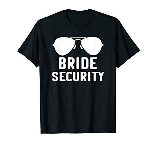Bride Security T-Shirt Bearer Wedding Gift Shirt