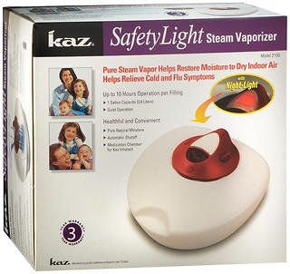 Kaz SafetyLight Steam Vaporizer 1 Each (Pack of 2) For Sale