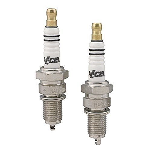 ACCEL Y2418P Platinum Spark Plug - Pack of (Ground Accel Spark Plug)