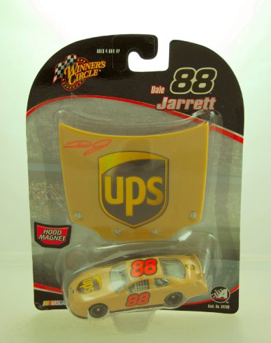 2005 - Action - Winner's Circle - NASCAR - Dale Jarrett #88 - Hood Magnet Series - UPS Racing - Ford Taurus - 1:64 Scale Die Cast - Limited Edition - Collectible