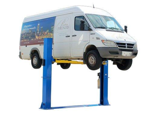 Atlas Equipment (ATEATPKBP10000X) 10,000 lb. capacity baseplate 2-post lift 10000 Lbs Capacity Two Post