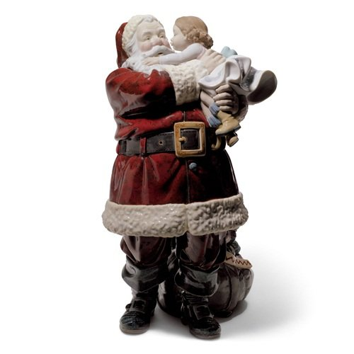 Lladro Santa I've Been Good Figurine - Plus One Year Accidental Breakage Replacement