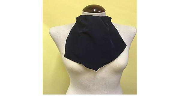 Pañuelo de Traqueotomia Seda Azul 1-Unidad: Amazon.es: Salud y cuidado personal