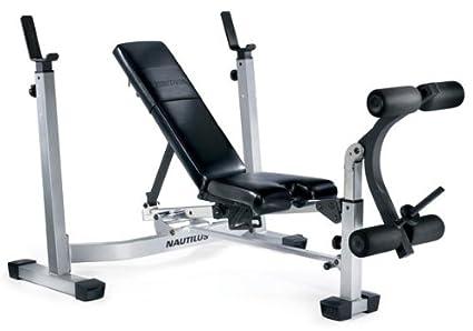 Nautilus Olympic Weight Bench And Squat Rack Blog Dandk