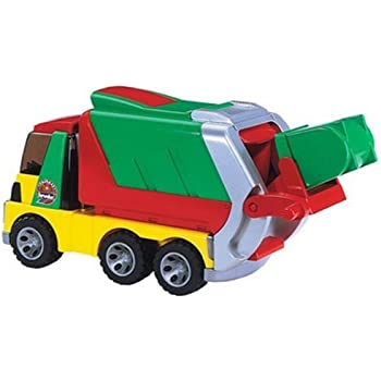 Amazon Com Bruder Toys Roadmax Garbage Truck Toys Amp Games