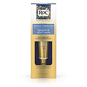 Roc Retinol Correxion Anti-Aging Sensitive Skin Night Cream, 1 Oz.
