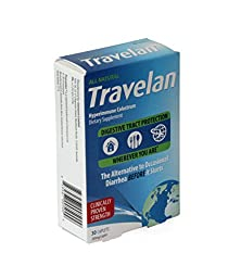Travelan 70538 OTC Natural Colostrum Dietary Supplement, 10-Day Pack, 30-Caplets