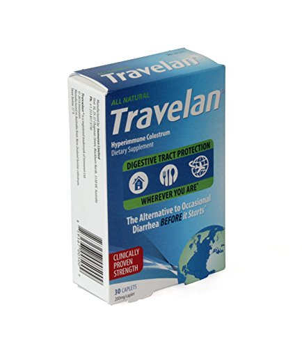 (Travelan 70538 OTC Natural Colostrum Dietary Supplement, 10-Day Pack,)