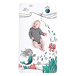 41BIPM78lGL._SS300_ Mermaid Crib Bedding and Mermaid Nursery Bedding Sets