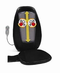 Obusforme Shiatsu Massaging Cushion with Heat (Black)