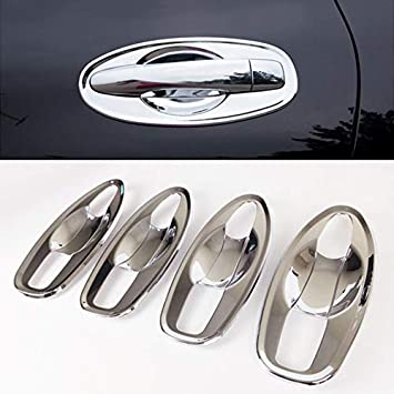 Chrome Side Door Handle Cover Trim 8pcs//set for Nissan Rogue//x-trail 2014 2015
