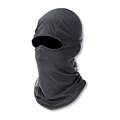 (Ergodyne N-Ferno 6824 Winter Ski Mask Balaclava, Thermal Wool Blend, Mositure-Wicking)