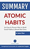 Summary: Atomic Habits: An Easy & Proven Way to