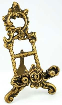 AzureGreen RSMH6 Brass Scrying Mirror Holder