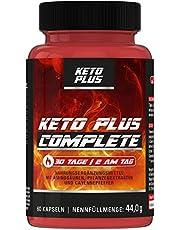 Keto Plus DAY Complete Fettstoffwechsel Kapseln, für Stoffwechsel von Männer und Frauen, 60 Kapseln I SONDERAKTION da Abverkauf